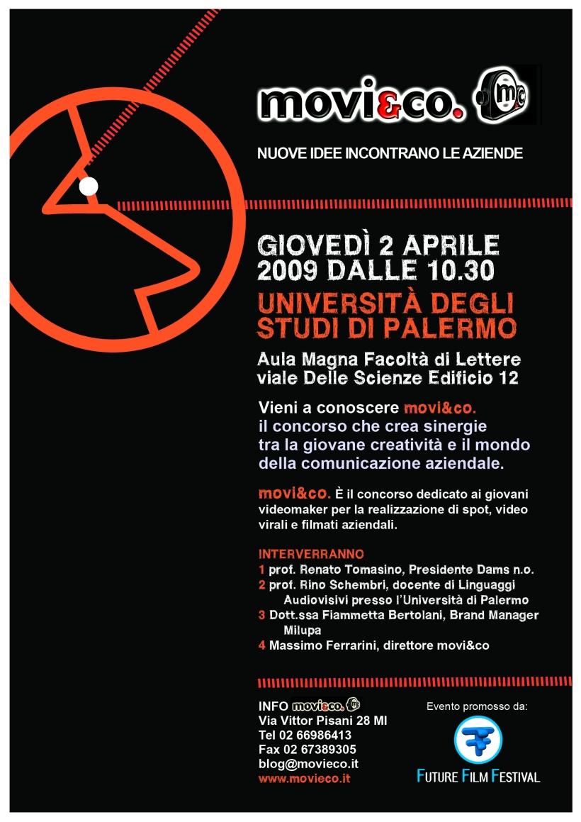 movi&co. all'Università degli Studi di Palermo