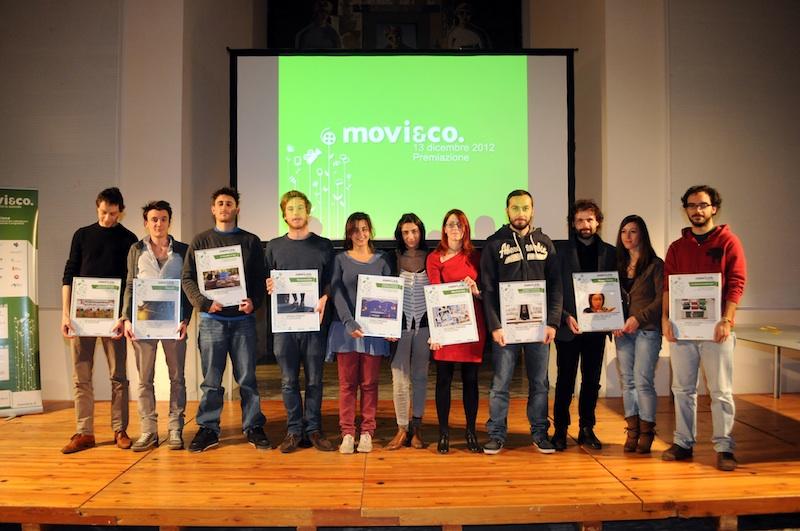 131212 Milano Cerimonia di Premiazione del Concorso Movi&Co 2012.